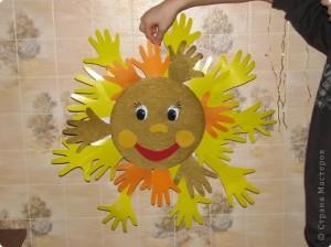 аплікація сонце